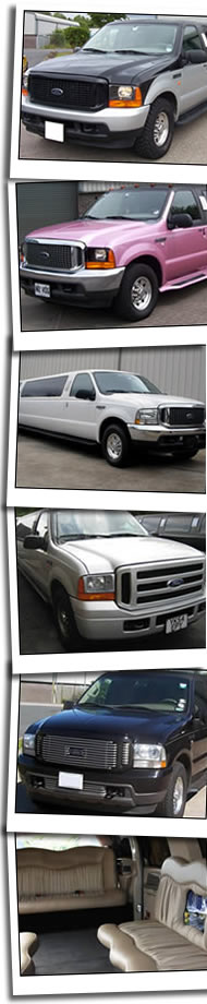 Newport limousine hire homepage banner
